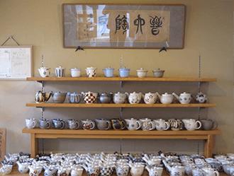 手作りの陶器を製造販売